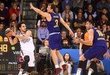 """""""Barcelona"""" patyrė pažeminimą namuose: """"Anadolu Efes"""" laimėjo 34 taškais ir susigrąžino namų aikštės pranašumą"""