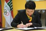 D.Gudzinevičiūtė – tarp kandidatų į EOK vykdomąjį komitetą