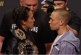 R.Namajunas ar J.Jedrzejczyk? UFC kovotojai pateikė savo prognozes