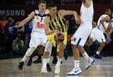 """""""Fenerbahce"""" iki finalo Turkijoje liko žingsnis"""