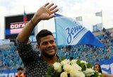 "Hulkas: ""Visada pasiilgsiu Sankt Peterburgo ir ""Zenit"""