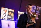 """C.Ronaldo: """"Jeigu """"Real"""" ir Portugalija nebūtų laimėję trofėjų, """"Ballon d'Or"""" neturėčiau"""""""