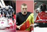 Šventė Latvijai: Pjongčange iškovotas pirmasis medalis, auksą laimėjo dvi įgulos! (atnaujinta)