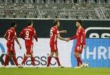 """Vokietijoje – 2 neįskaityti R.Lewandowskio įvarčiai ir """"Bayern"""" pergalė prieš """"Borussia"""""""
