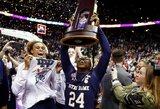 Iš fantastikos srities: krepšininkė pergalę išplėšė NCAA pusfinalyje, finale ir sulaukė K.Bryanto sveikinimo