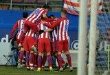 """""""Atletico"""" klubas pakilo į ketvirtą vietą"""