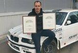 R.Šeinausko pasiektas Lietuvos rekordas patvirtintas oficialiai