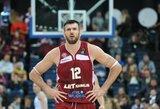 Sparčiai aukštyn kylantys Lavrinovičiai: kiek broliai dar pagerins savo pozicijas Europos taurės statistikos metraščiuose?