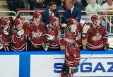 Iš rinktinės į KHL N.Ališauskas sugrįžo įvarčiu