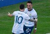 """L.Martinezo agentas patvirtino """"Barcelonos"""" susidomėjimą argentiniečiu"""