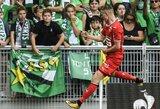 """Saint-Etienne"" nesugebėjo išplėšti pergalės prieš ""Rennes"""