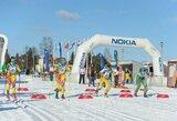 Iš Pjongčango parskridusi N.Kočergina laimėjo Lietuvos slidinėjimo čempionatą, trasoje varžėsi ir egzotinės šalies atstovas
