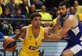 """Spurtas ketvirtajame kėlinyje leido """"Maccabi"""" Eurolygoje įveikti turnyrinės lentelės kaimynus"""