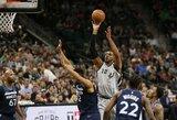 """Fantastišką kėlinį sužaidusi """"Spurs"""" šventė svarbią pergalę"""