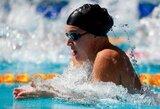 Plaukimo varžybose JAV – R.Meilutytės auksas ir sidabras