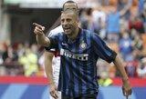 """W.Samuelis pratęsė sutartį su """"Inter"""""""