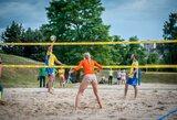 Oficialu: paplūdimio tinklinį galima žaisti pačiame miesto centre