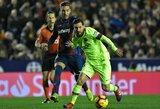 """Įspūdinga statistika: galingą pasirodymą surengęs L.Messi pasiekė naują """"Barcelona"""" rekordą"""