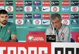"""F.Santosas: """"Po pirmų rungtynių su Lietuva padarėme išvadas"""""""