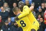 """N.Kante įvartis """"Chelsea"""" leido užbaigti 2018-uosius pergalingai"""