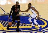 """""""Heat"""" gynėjas pasakė, kuo skiriasi L.Jamesas ir K.Durantas"""