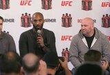 UFC prezidentas atskleidė, kad K.Bryantui prieš pat mirtį perdavė geras naujienas