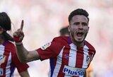 """Ispanijoje """"Atletico"""" iškovojo pergalę minimaliu rezultatu"""