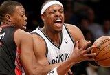 """P.Pierce'as """"Nets"""" gretose norėtų uždirbti 9–10 mln. JAV dolerių per sezoną"""
