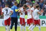 """Vokietijos taurė: """"Hamburger"""" gėdingai krito prieš trečiosios lygos klubą"""