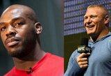 UFC gali sudrebinti dviejų legendų dvikova