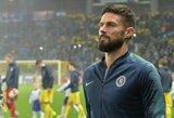 """O.Giroud apie laukiantį Europos lygos finalą su """"Arsenal"""": """"Dabar mano kraujas yra mėlynas"""""""