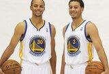 S.Curry Oklando klube nenori rungtyniauti kartu su broliu
