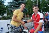 Lietuviai žengia tarp lyderių R.Navardausko taurės dviratininkų varžybose