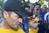 Visam gyvenimui diskvalifikuotas L.Armstrongas ruošiasi dalyvauti plaukimo varžybose