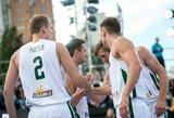 Puikiai iš toli atakavusi Lietuvos vyrų 3x3 rinktinė iškovojo kelialapį į Europos čempionatą