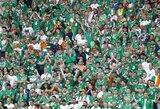 Juoksitės iki ašarų: Airijos fanų linksmybės Prancūzijoje