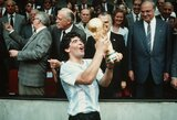 Jubiliejų minėjęs D.Maradona: apie L.Messi problemas Barselonoje, narkotikus ir tikėjimą V.Putinu