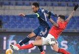"""Europos lygos šešioliktfinalyje – """"Benfica"""" ir """"Arsenal"""" komandų lygiosios"""