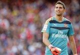 """""""Arsenal"""" paskolino savo vartininką, """"Monaco"""" įsigijo brazilų talentą"""