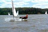 Penki lietuviai išmėgino jėgas pasaulio jaunių buriavimo čempionate