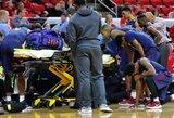 Siaubinga: rungtynių metu krepšininkui sustojo širdis