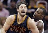 """Kuriozais nuspalvintame Rytų konferencijos finalo pakartojime – """"Cavaliers"""" triumfas"""