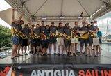 """Karibų sezoną """"Ambersail 2"""" uždarė su trenksmu: aplenkė du šimtapėdžius konkurentus ir iškovojo Lietuvai sidabrą"""