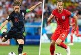 Viskas, ką jums reikia žinoti prieš Kroatijos ir Anglijos rungtynes