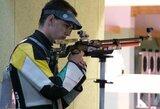 Europos šaudymo čempionate – dar keturių lietuvių startai