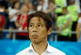 """Palūžęs Japonijos treneris: """"Turėjome laimėti prieš Belgiją"""""""