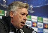 "C.Ancelotti: ""Nenusipelnėme raudonos kortelės"""