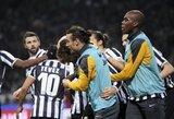 """""""Juventus"""" nugalėjo """"Milan"""", """"Lazio"""" patiesė """"Fiorentina"""""""