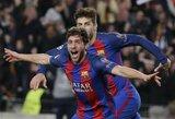 """Tiesiog neįtikėtina: """"Barcelona"""" perrašė Čempionų lygos istoriją ir eliminavo PSG klubą"""