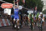 """Antrajame """"Eneco Tour"""" dviračių lenktynių etape lietuviai prie lyderių nepriartėjo"""